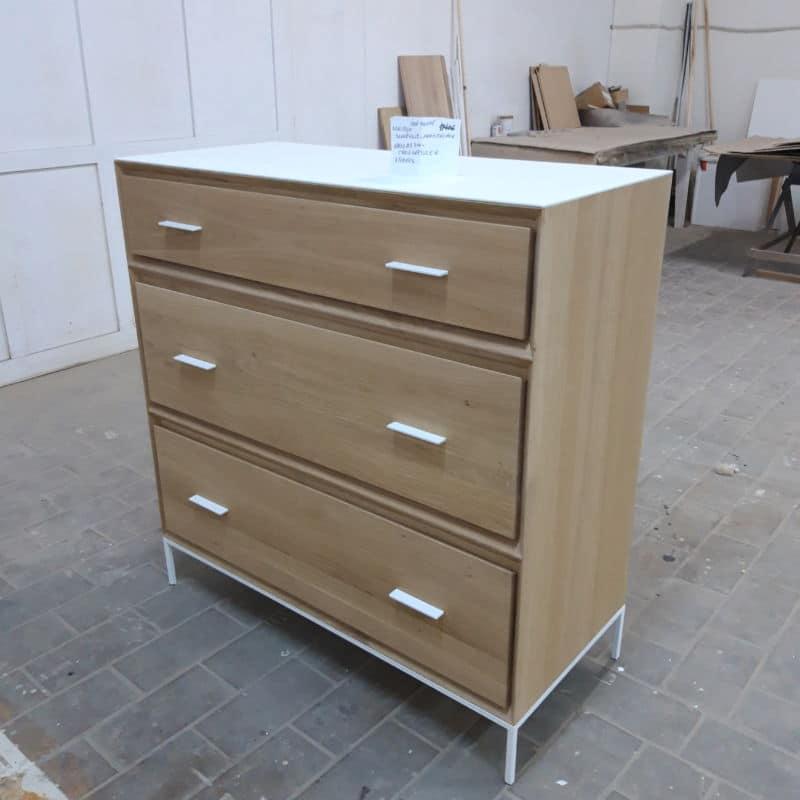 Dressoir bois métal design scandinave sur mesure