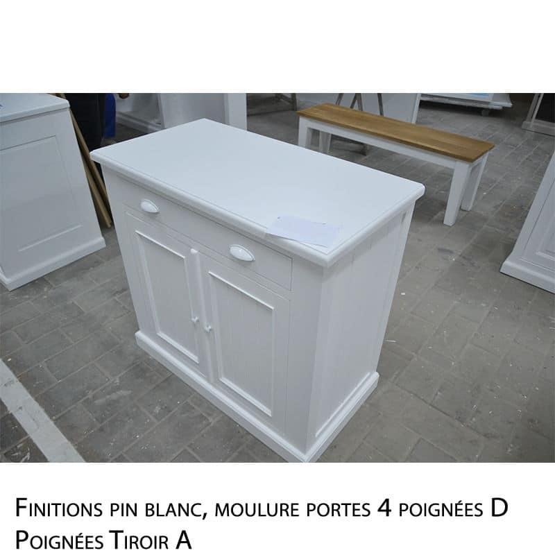 Buffet en pin massif design cottage / charme sur mesure