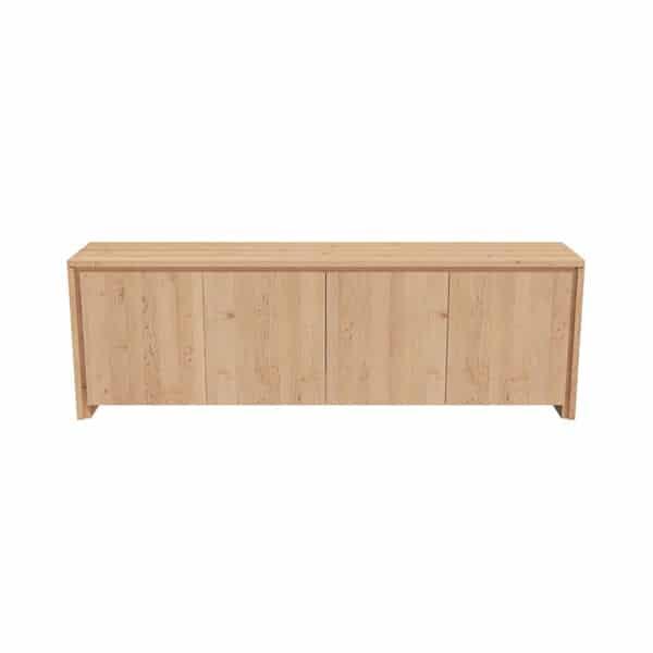 Dressoir en bois sur mesure au design moderne et épuré