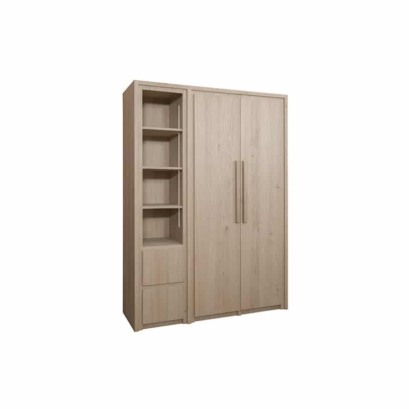 Garde robe en bois sur mesure au design moderne et épuré
