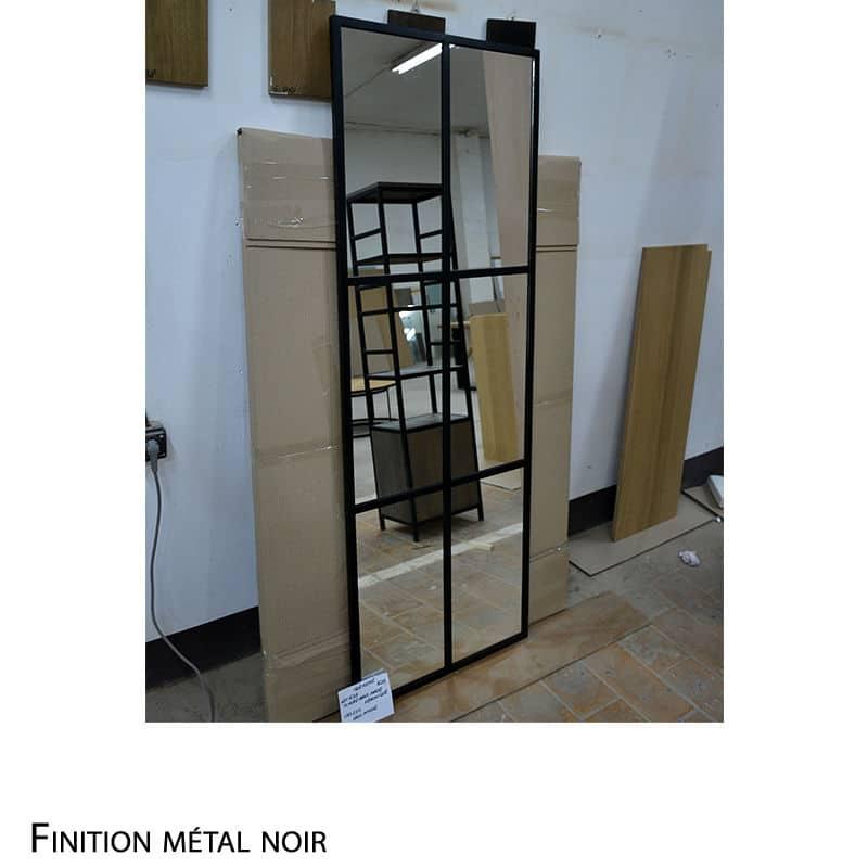 Miroir métal
