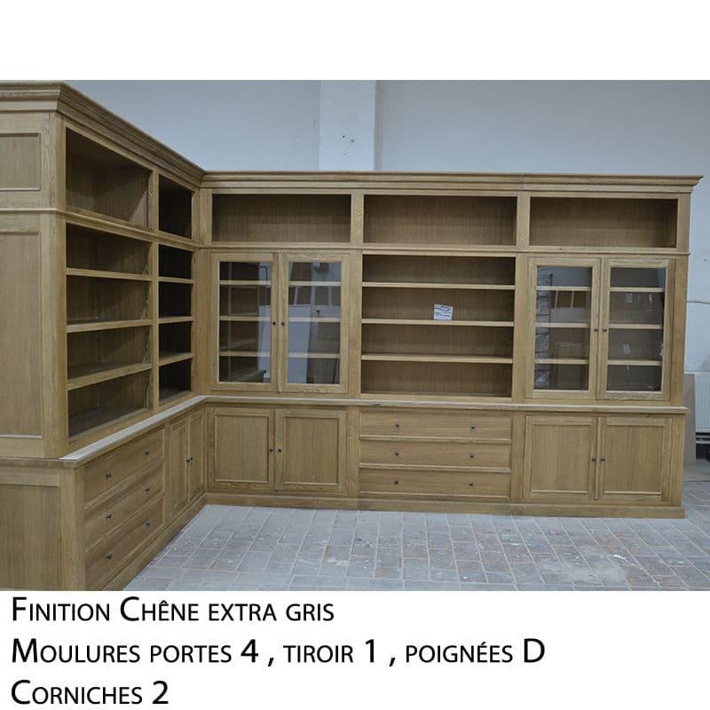 meuble de coin en bois