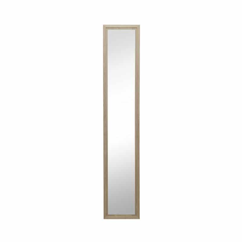 miroir chêne épuré