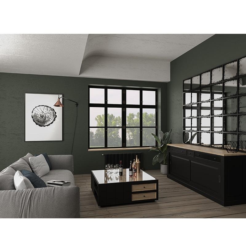 Table basse en bois de style cottage / charme sur mesure