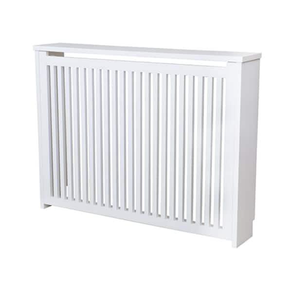 Cache radiateur en bois blanc sur mesure