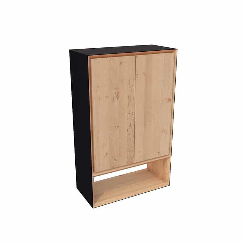 Buffet bois massif design scandinave sur mesure