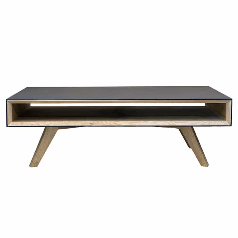 Table basse métal bois design scandinave