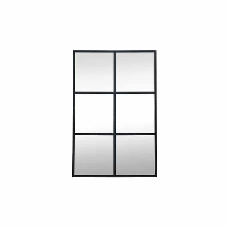 Miroir métal design industrielle épuré