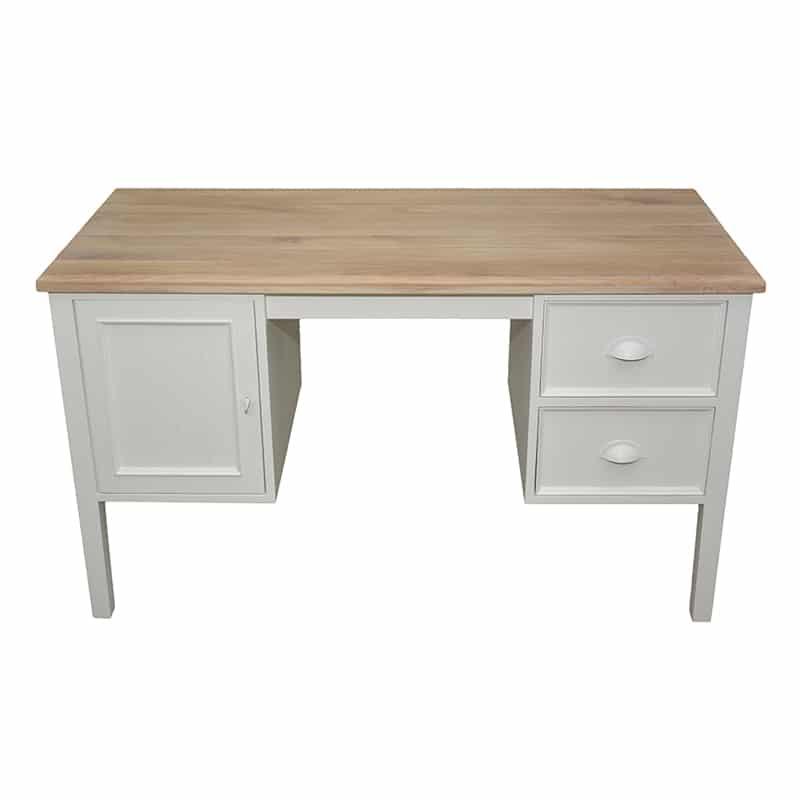 bureau en pin au style cottage / charme sur mesure