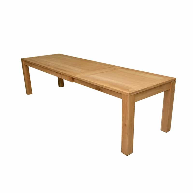 Table avec rallonges au design moderne en bois
