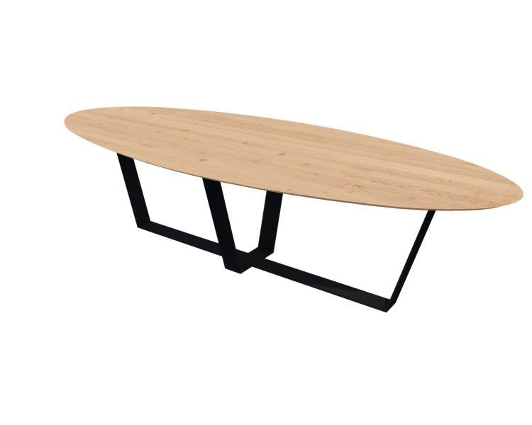 Table métal bois design